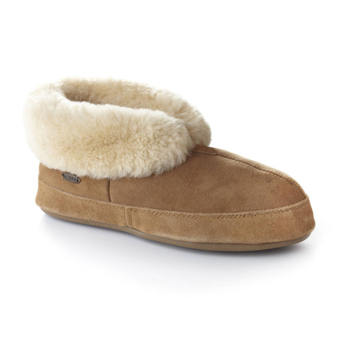 Sheepskin Bootie Slippers - Men's