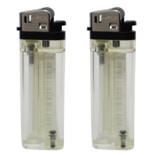 Refillable Lighter - 2 Pack