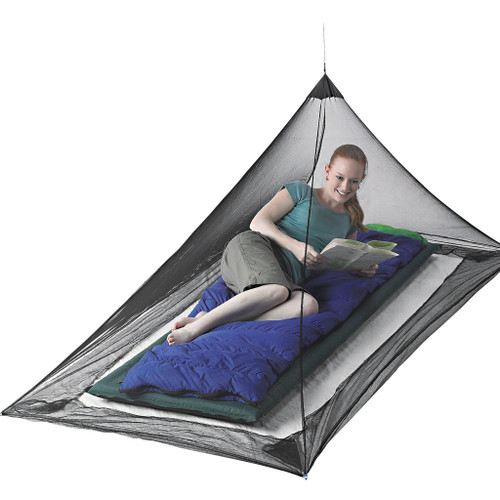 Mosquito Pyramid Net with Insect Shield - Single