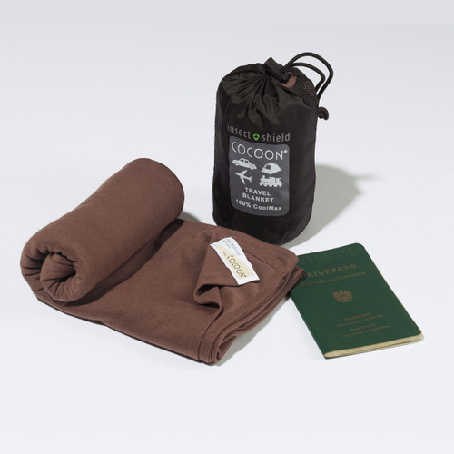 CoolMax Travel Blanket with Insect Shield