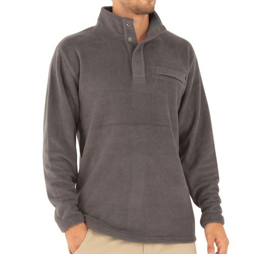 Polar Fleece Snap Pullover - Men's