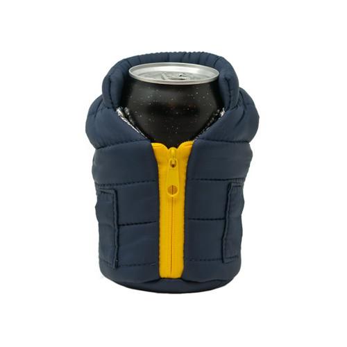 Puffin Vest - Blue / Gold