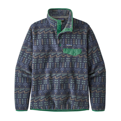 Lightweight Synchilla Snap-T Pullover - Women's - Wild Roots / New Navy
