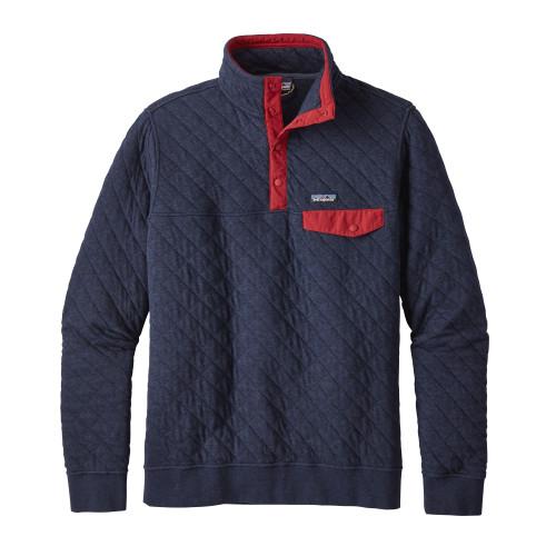 Cotton Quilt Snap-T Pullover - Men's