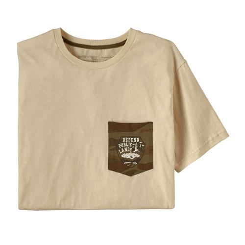 Defend Public Lands Organic Pocket T-Shirt - Men's