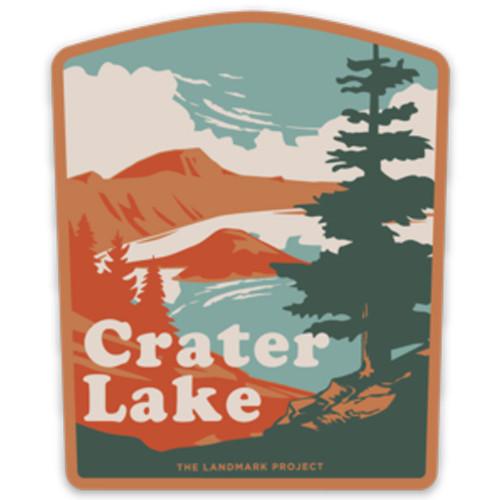 Crater Lake Sticker