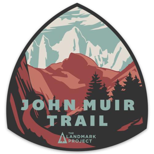 John Muir Trail Sticker