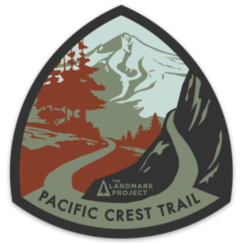 Pacific Crest Trail Sticker