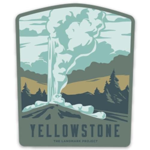 Yellowstone Sticker