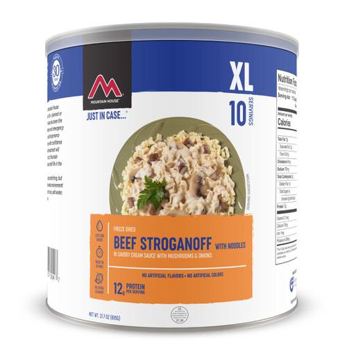Beef Stroganoff - No. 10 Can