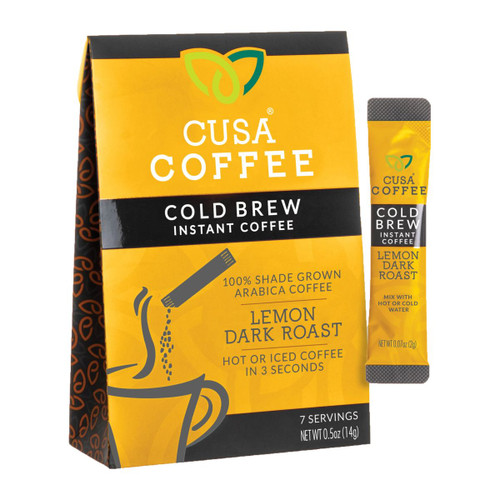 Lemon Dark Roast Coffee