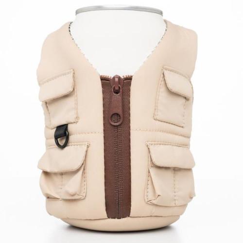Puffin Adventure Vest - Classic Tan