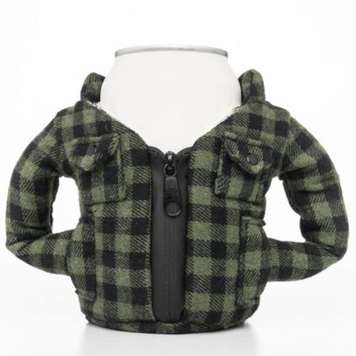 Puffin Flannel - Buffalo Green