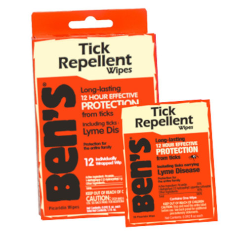 Tick Wipes - 12 Pack