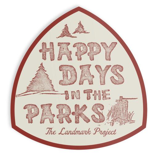 Happy Days Sticker