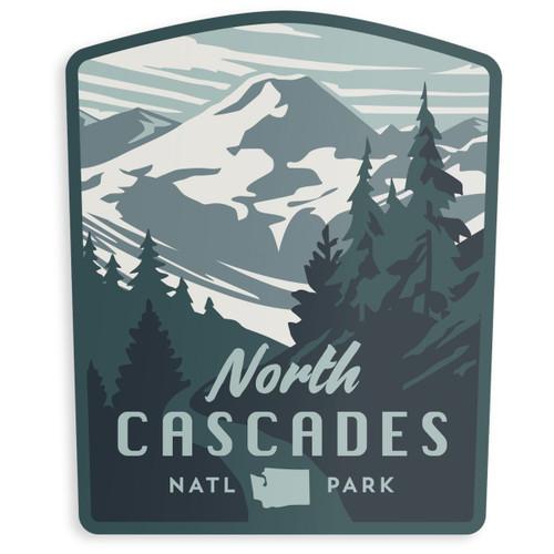 North Cascades Sticker