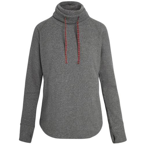 Rolpa Cowl-Neck Fleece Pullover - Women's