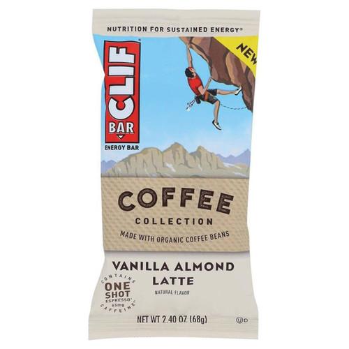 Clif Bar - Coffee Collection: Vanilla Almond Latte