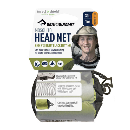 Mosquito Head Net w/ Insect Shield