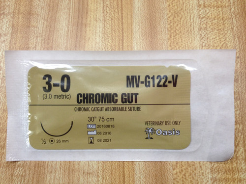 SUTURE (CHROMIC GUT ABSORBABLE)