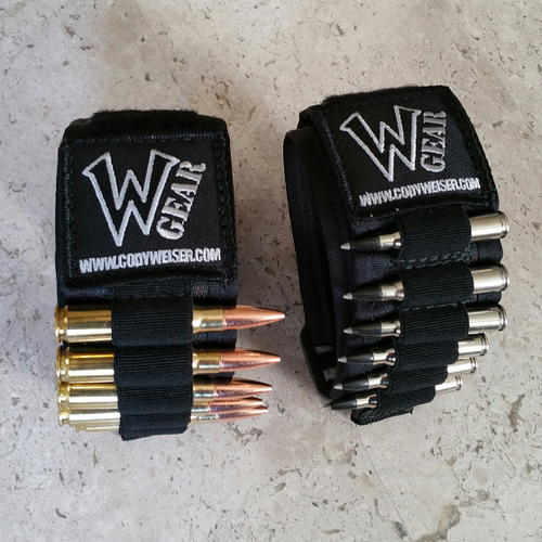 W-GEAR® AMMO BRACELET (USA Shipping $1.00)