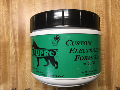 NUPRO CUSTOM ELECTROLYTE FORMULA (for dogs)  1 lb.