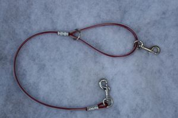 SHORT CABLE CATCH DOG LEAD