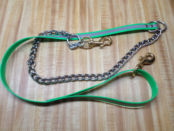 """3/4"""" REFLECTIVE DAY GLO AND CHAIN LEAD"""