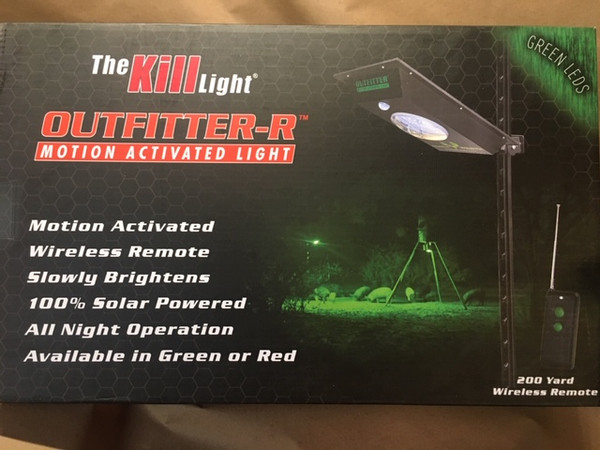 Kill Light® OUTFITTER-R with Remote Control (green)