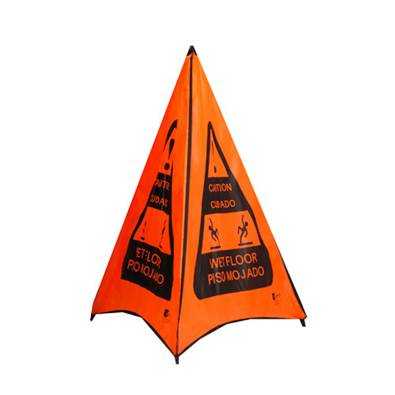 Wet Floor Sign Pop Out Cone Daymark Safety