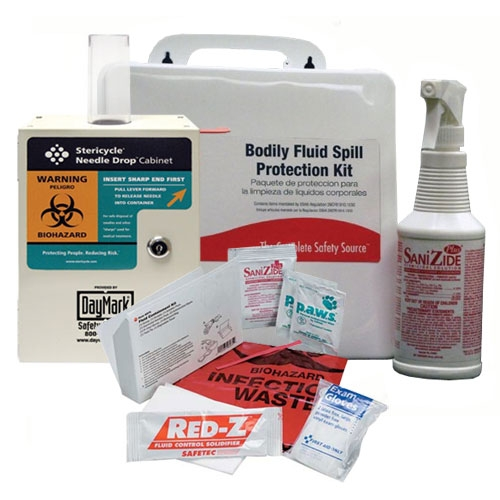 Bodily Fluid Cleanup Kits