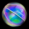 The Starbury Globe basketball with the glow effect.