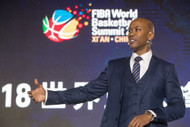 Stephon Marbury Delivers Keynote Address at FIBA's World Basketball Summit 2018