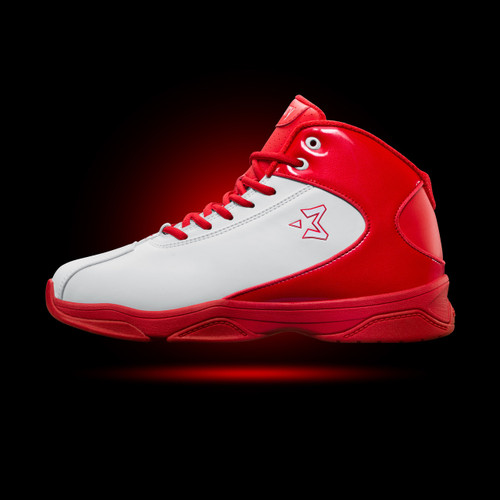 Starbury 3 - White/Crimson
