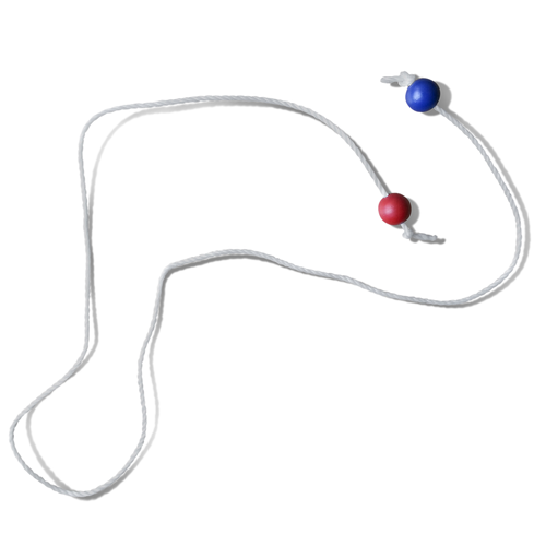 Backyard Bocce Bead String Distance Marker