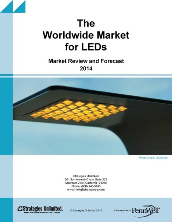 The Worldwide Market for LEDs: Market Analysis and Forecast 2014