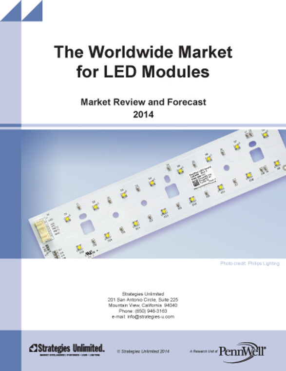 The Worldwide Market for LED Modules: Market Review and Forecast 2014