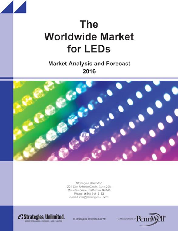 The Worldwide Market for LEDs: Market Analysis and Forecast 2016