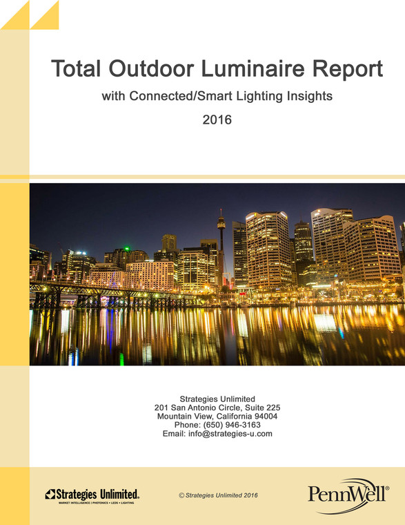 Total Outdoor Luminaire with Connected/Smart Lighting Insights 2016