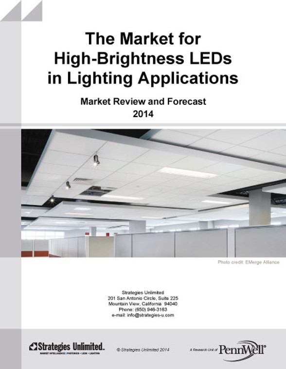 The Market for High-Brightness LEDs in Lighting Applications: Market Review and Forecast - 2014