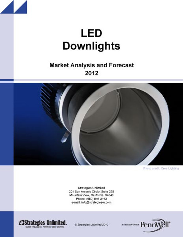 LED Downlights: Market Analysis and Forecast 2012
