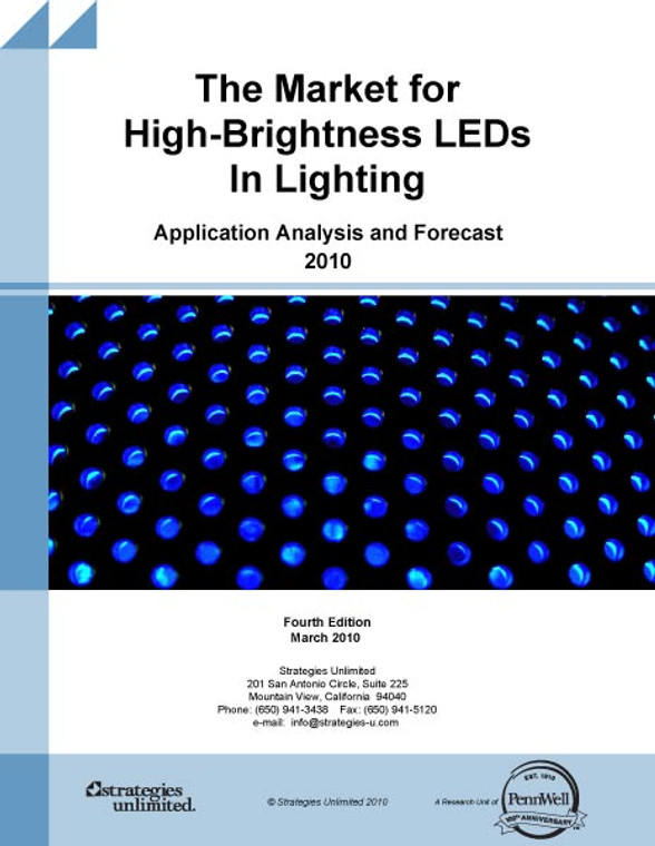 The Market for High-Brightness LEDs in Lighting Applications 2010