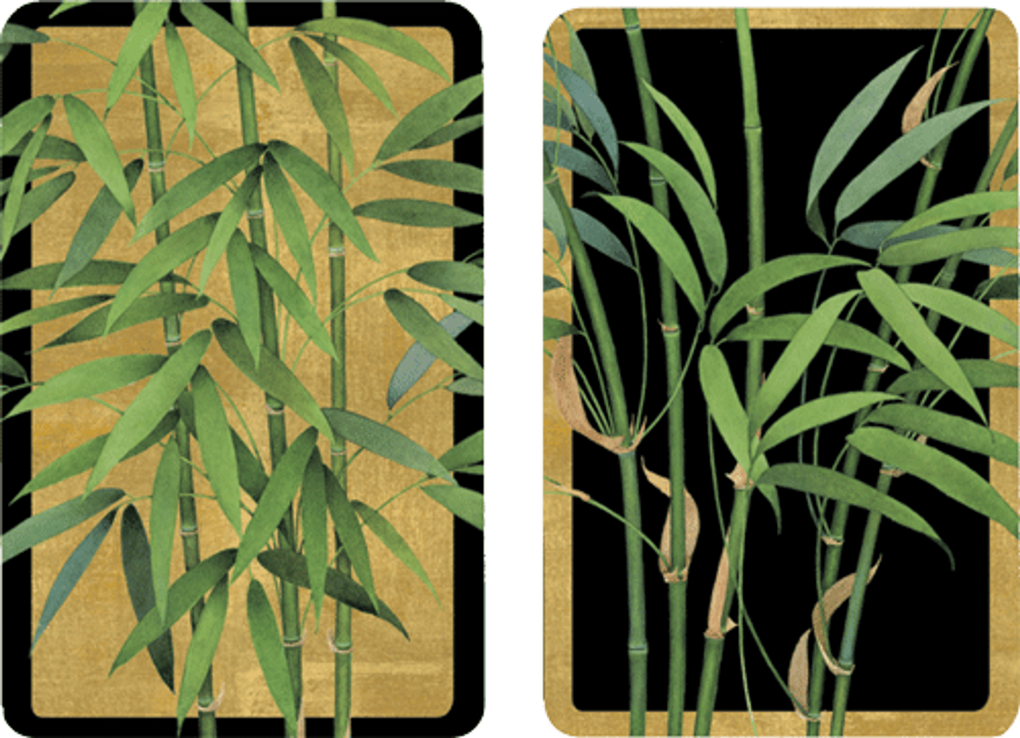 Playing Cards Bamboo Trees Regular Type St Helen S On