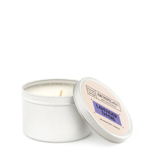 Lavender Thyme Tin Candle
