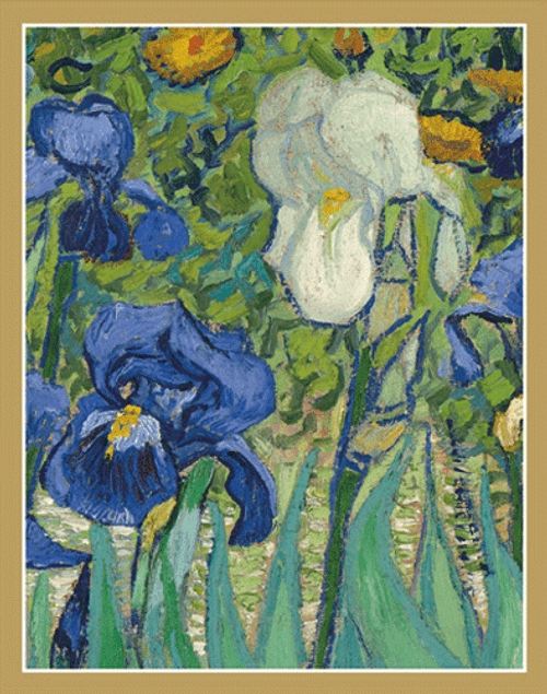 Bridge Tallies Van Gogh Irises
