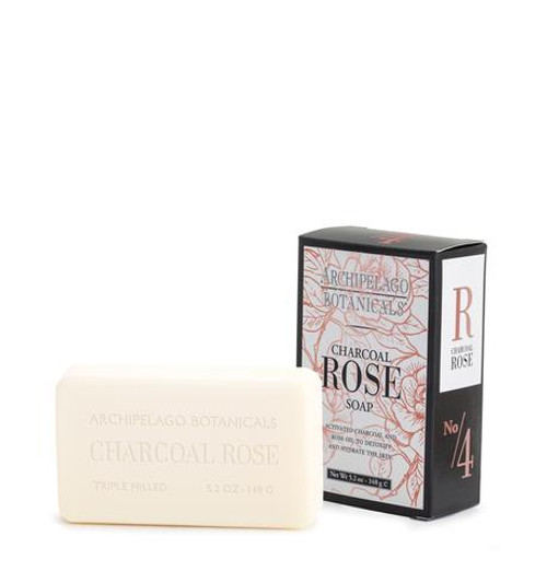 Charcoal Rose Bar Soap
