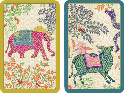 Playing Cards Le Jardin De Mysore - Large Type
