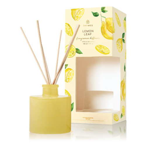 Dewy leaves, crisp white wood accord and creamy lily of the valley combine with effervescent lemon verbena. This flameless and beautiful yellow glass home accessory includes with slender rattan reeds that absorb the scented oil, and releases refreshing fragrance throughout your space.