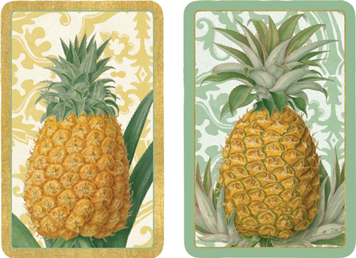 Playing Cards Royal Pineapple - Large Type