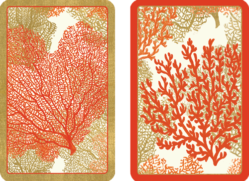 Playing Cards Sea Fans - Large Type